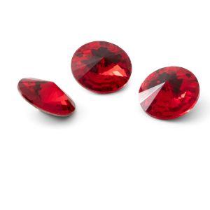Tour cristal 12mm, RIVOLI 12 MM GAVBARI LIGHT RED