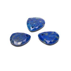 Larme pendentif, Lapis lazuli16 mm, pierre semi-précieuse