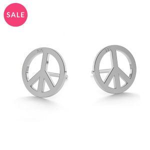Boucles d'oreilles paix - LK-0590