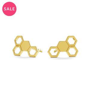 Rayon de miel boucle d'oreille, LK-0811 KLS - 0,50